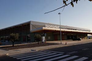 El mercado Biomarket de Mercabarna.