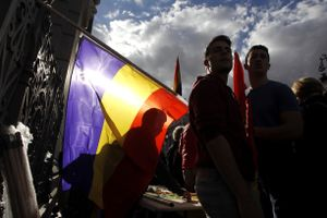 Acto de conmemoración del aniversario de la Segunda República