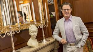 Kyle Maclachlan, protagonista de la serie 'Twin Peaks', este jueves, en Madrid.