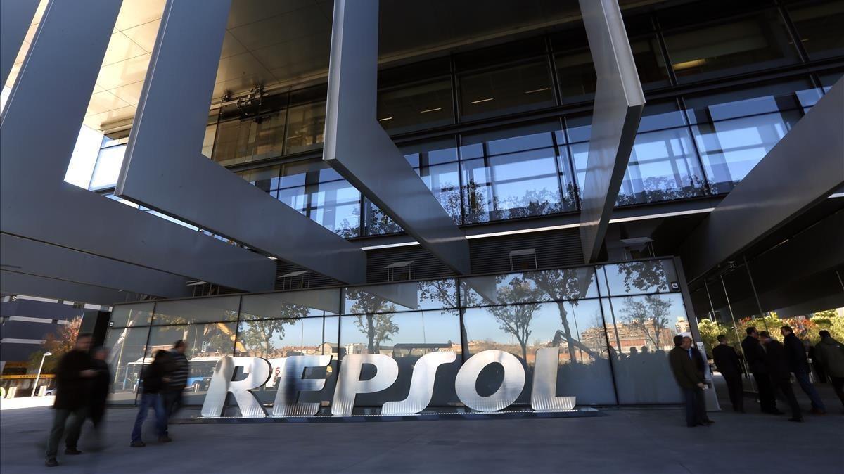 Sede central de Repsol en Madrid.