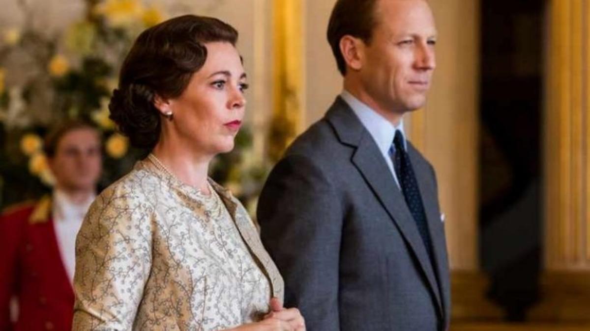 Olivia Colman y Tobias Menzies, Isabel II y Felipe de Edimburgo, en la tercera y cuarta temporada de 'The Crown'.