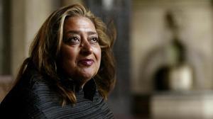 La arquitecta Zaha Hadid.