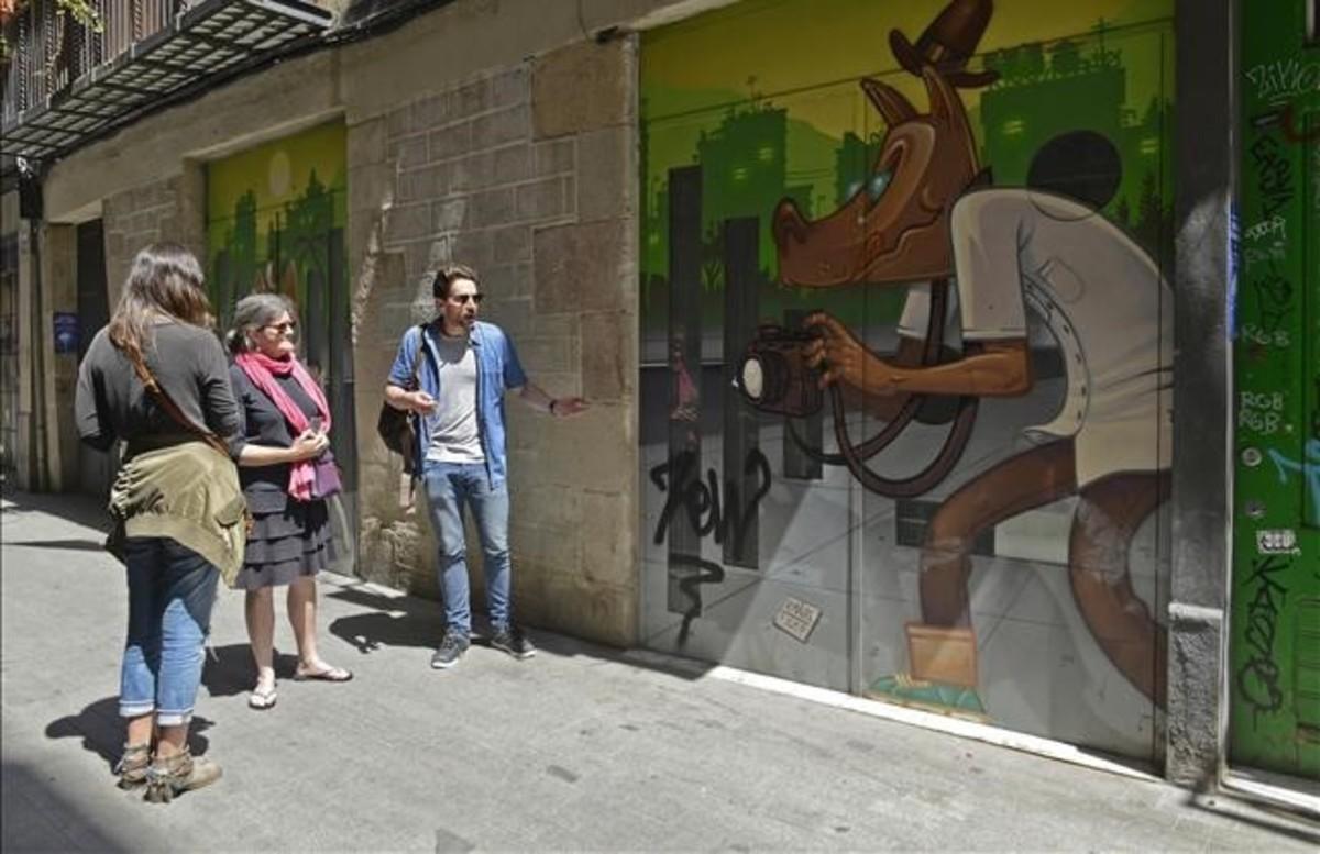 Recorrido por la Barcelona del arte urbano de Barcelona Street Style Tour.