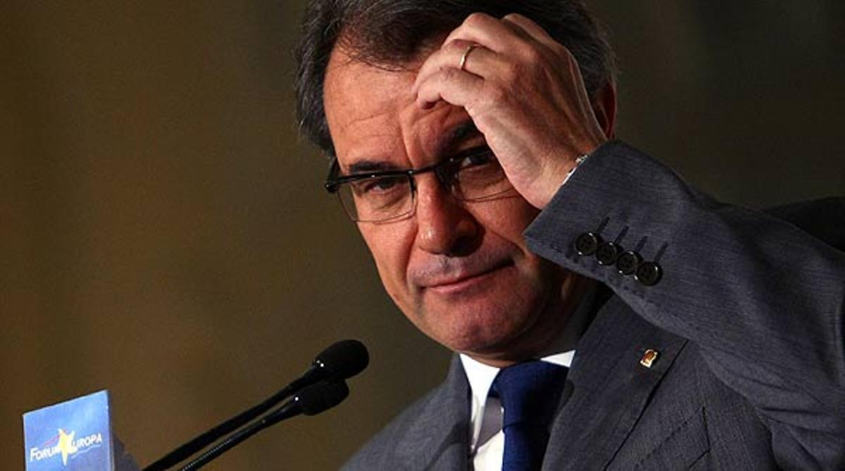 El discurso íntegro de Artur Mas en Madrid. FÓRUM NUEVA ECONOMÍA