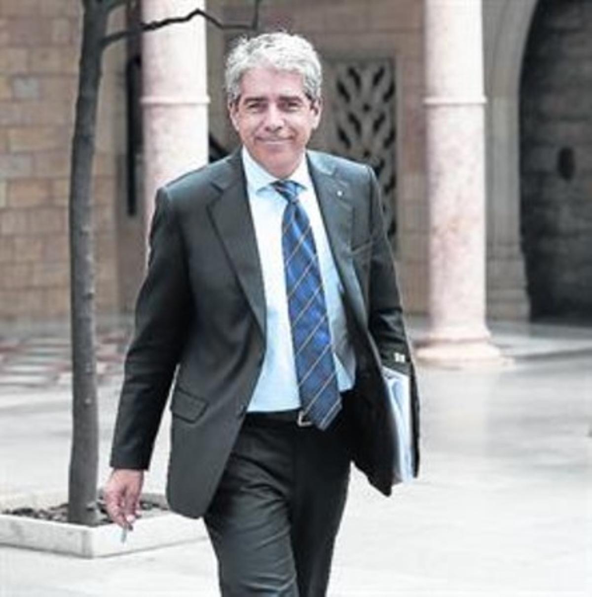 El 'conseller' de Presidència, Francesc Homs.
