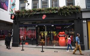 La tienda de los Rolling Stones, en Carnaby Street.