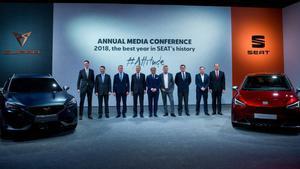 Seat i Volkswagen presentaran els seus resultats anuals 'a porta tancada'