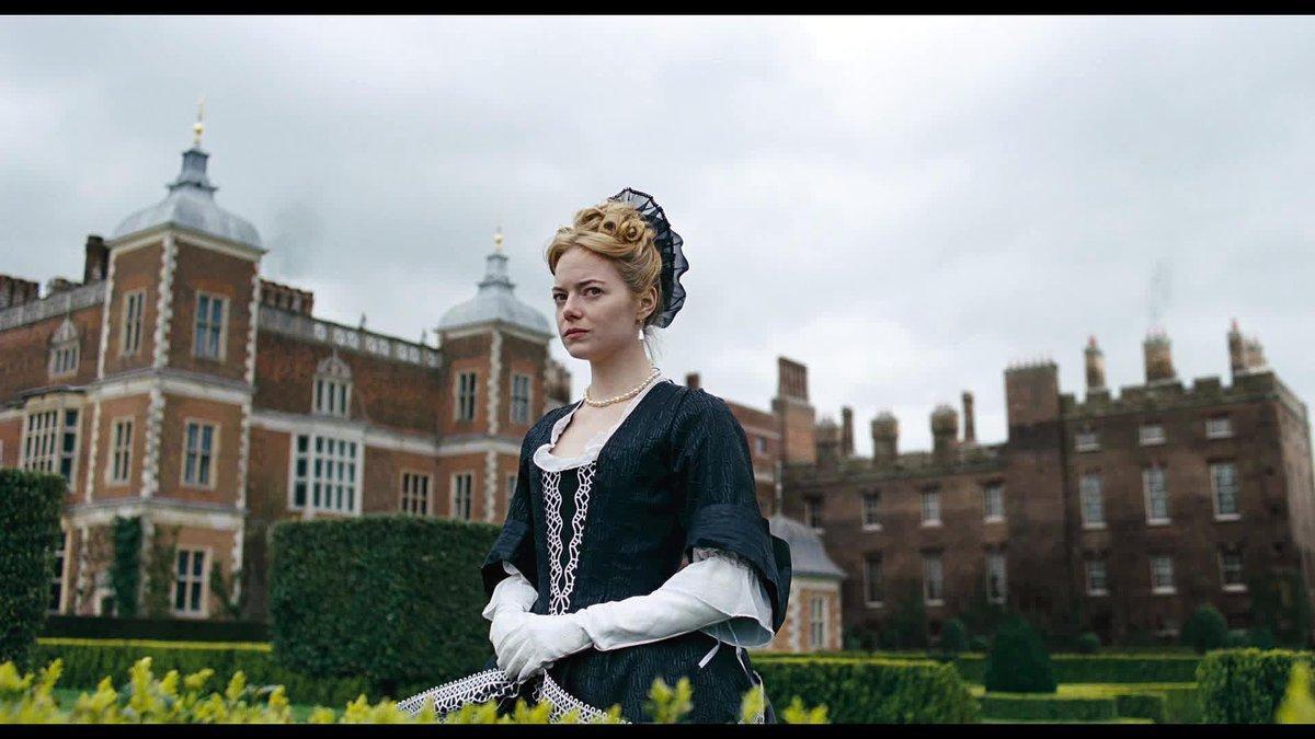 Emma Stone, en 'La favorita'.