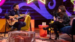 Dani Rovira y Vanesa Martín en 'La noche D'