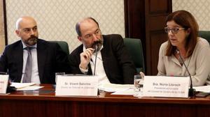 El jutge imputa Vicent Sanchis i Saül Gordillo per l'1-O