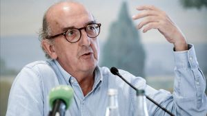 Jaume Roures, en una ruedade prensa.