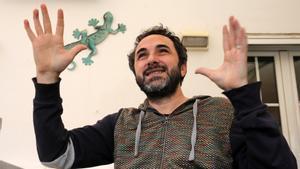 El músico Caïm Riba.