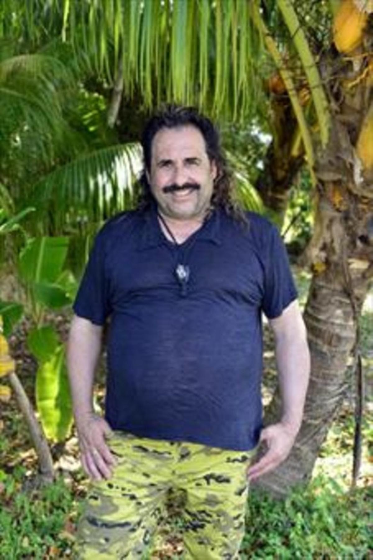 EL BUFÓN. Juan Miguel Martínez, en 'Supervivientes', el último de la cadena de 'realities' en los que ha participado sin deslomarse.