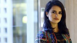 Penélope Cruz, el mes pasado, en la presentación de 'la reina de España'.