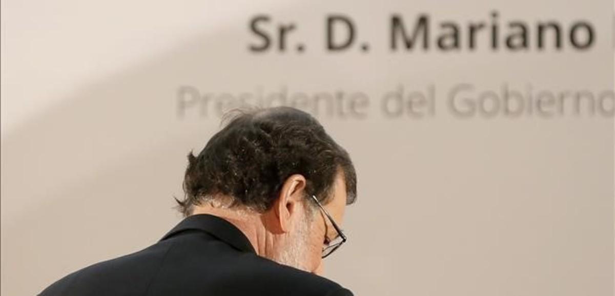 Mariano Rajoy, en un foro organizado por ABC.
