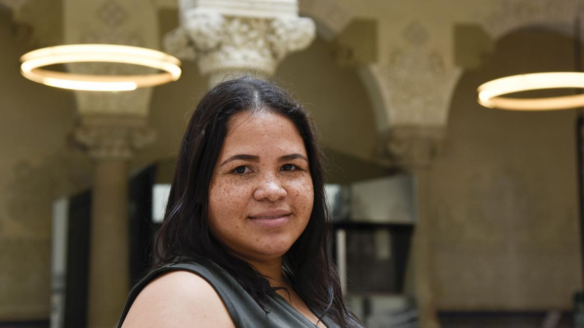 Leidy Yanet Serna, investigadora del Centre d'Enginyeria Biomèdica de la Universitat Politècnica de Catalunya (UPC)