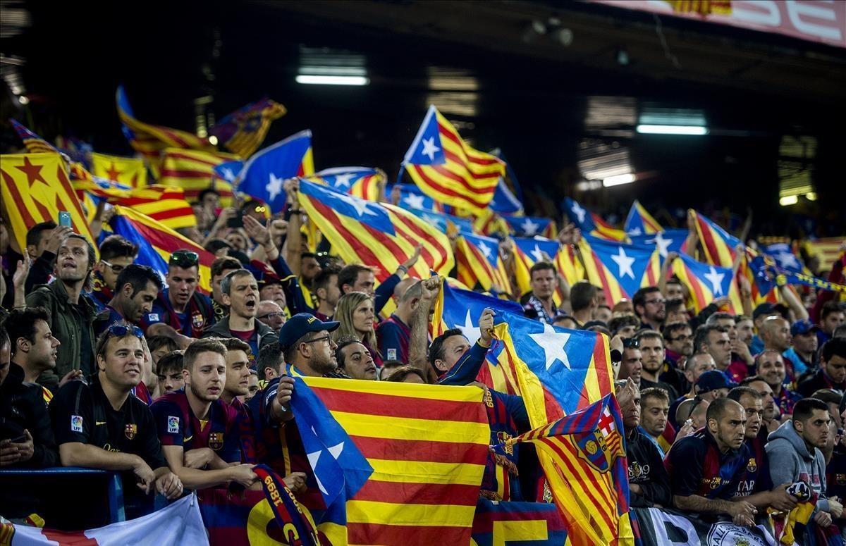 Un jutge de Madrid avala l'exhibició d'estelades en la final de Copa