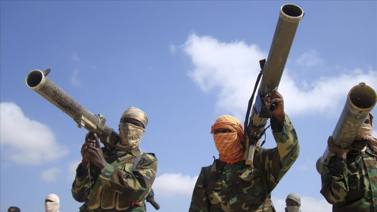 Miembros de Al Shabab en una fotografía del 2010.