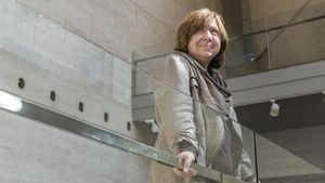 La premio Nobel de Literatura Svetlana Alexiévich en el CCCB.