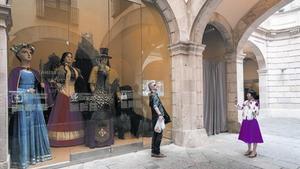 El Palau de la Virreina, seu de l'Institut de Cultura de Barcelona, ahir.