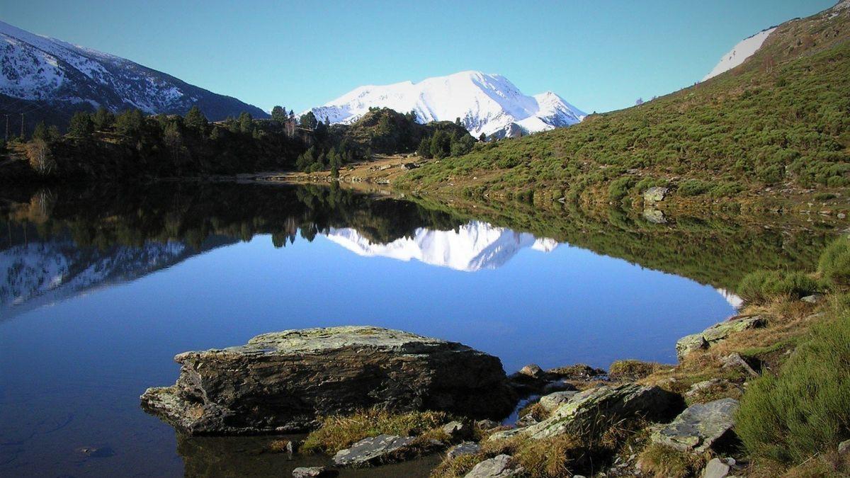 El lago de la Font Viva