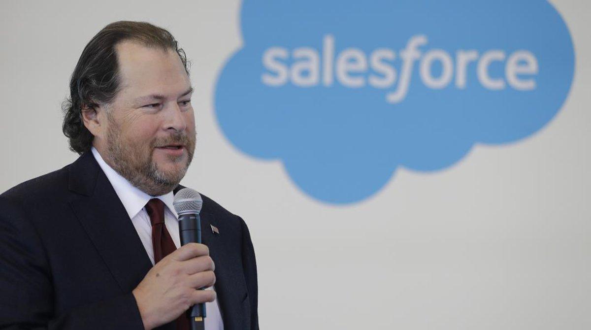 Mark Benioff, el principal ejecutivo de Salesforce.