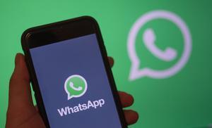 La 'app' de Whatsapp, una de las más utilizadas del mundo.