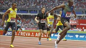 Usain Bolt, el pasado 6 de julio de París, donde ganó los 200 metros.