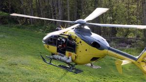 Imagen de un rescate en helicóptero.