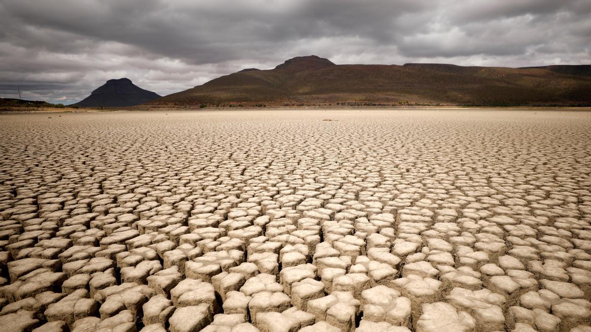 Desertización en un paraje natural de Suráfrica