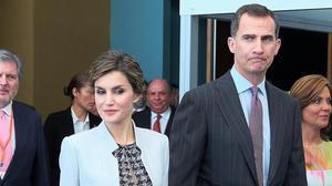 Los Reyes, en su visita a Puerto Rico, el pasado 15 de marzo.