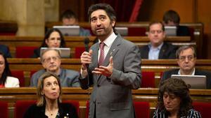 Cs demana la compareixença de Puigneró al Parlament pel 'cas Palau'