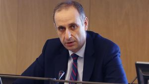 El presidente del Fondo de Reestructuración Ordenada Bancaria (FROB), Jaime Ponce, en la Comisión de Asuntos Económicos del Congreso.