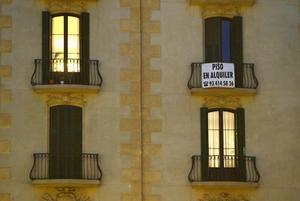 Piso en alquiler en la calle Gran Vía de Barcelona.