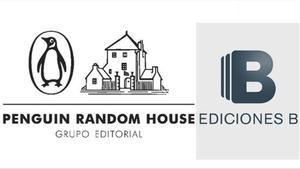 Los logos de Penguin Random House y Ediciones B.
