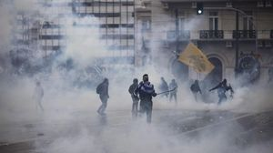 Incidentes en la manifestación en Atenas contra el cambio de nombre de Macedonia.
