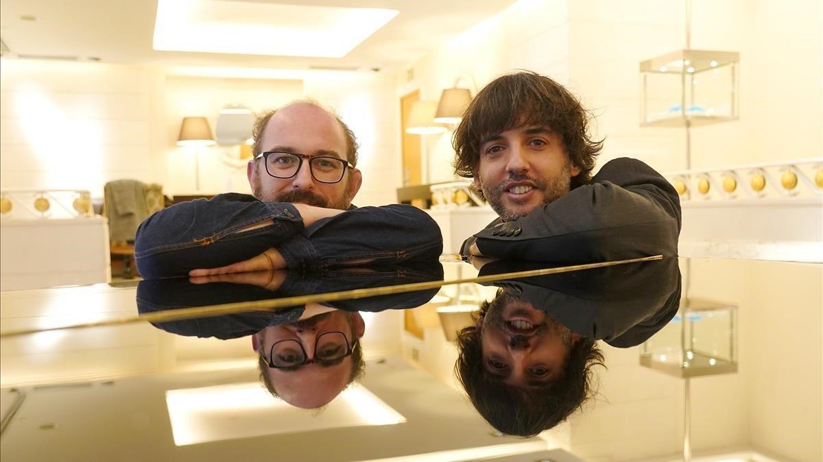 Borja Cobeaga i Diego San José, els altres pares de 'Superlópez'