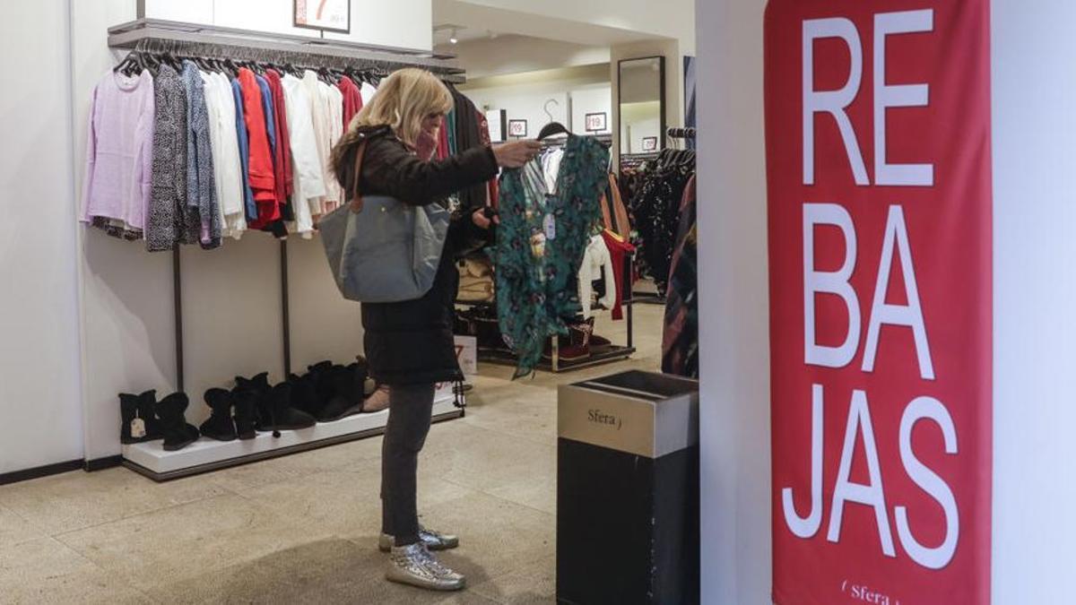 El comercio prevé una caída de las ventas de moda en rebajas de hasta el 30% respecto de antes de la pandemia