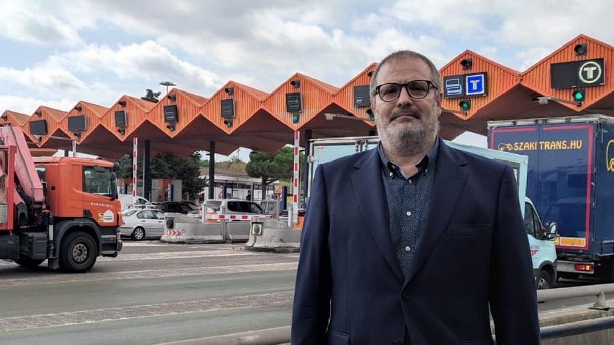 """Antonio Martínez: """"Calculo que ahorraré entre 2.000 y 3.000 euros anuales en peajes"""""""