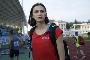 La triple campeona del mundo de altura, María Lasitskene, en una imagen de archivo