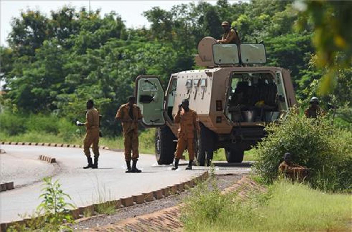 Las fuerzas de seguridad burkinesas luchan contra el yihadismo desde el año 2015.