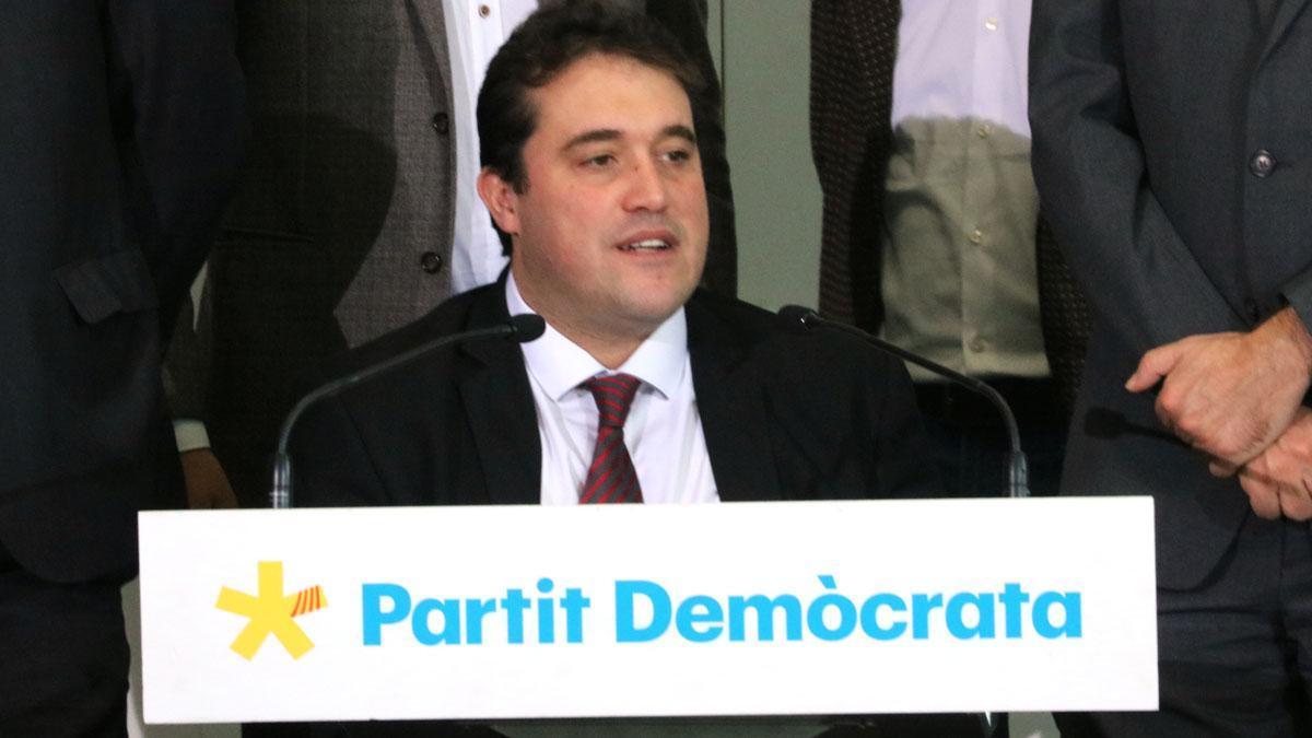 El PDECat acepta cambiar de nombre pero sin disolverse en JxCat, como ha explicado David Bonvehí.