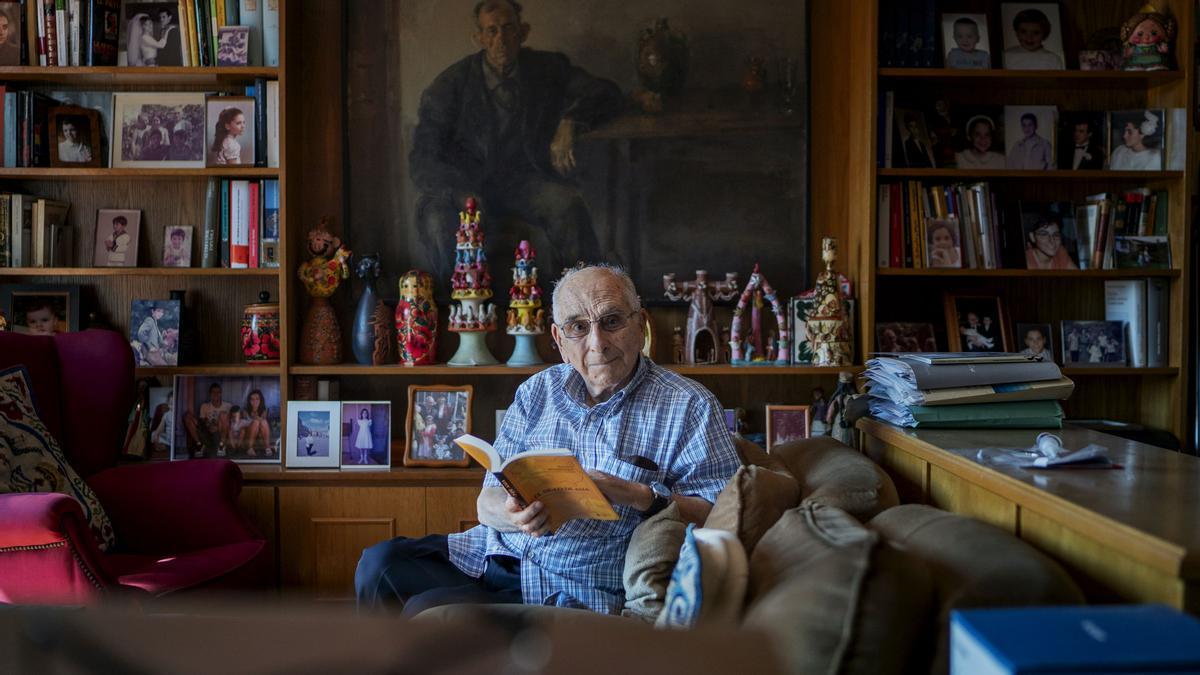 Mateo Madridejos, fotografiado en su domicilio.