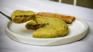 La tortilla de patatas del Bar Monterolas.