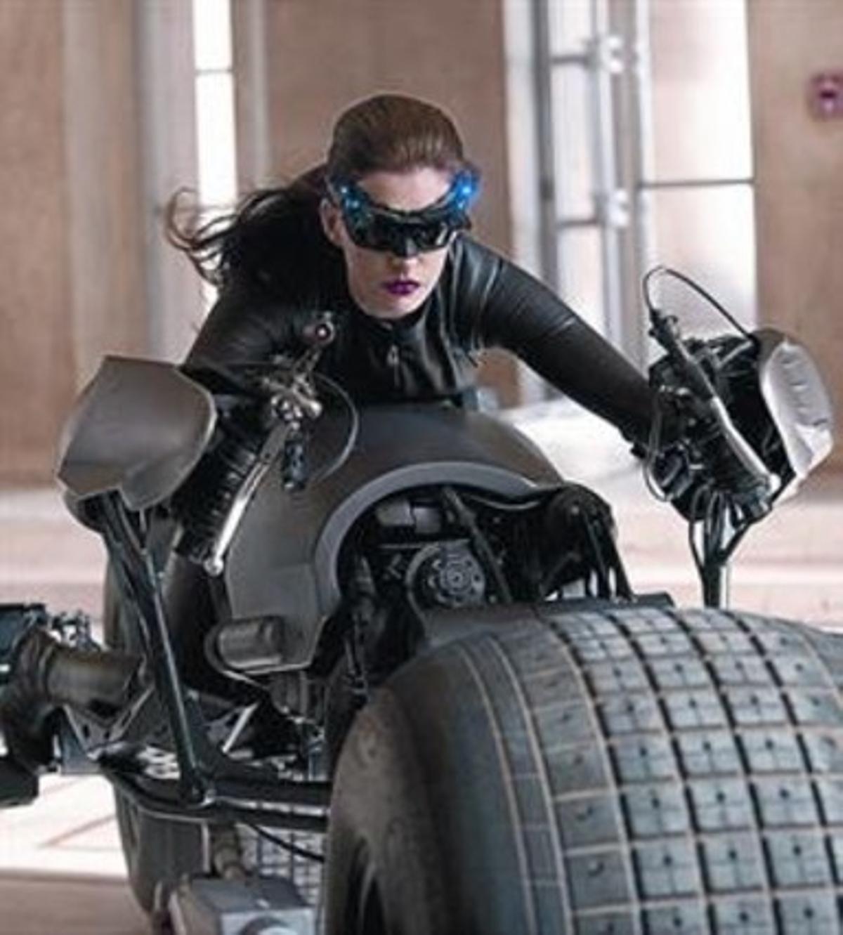 Anne Hathaway, la nueva Catwoman de Batman