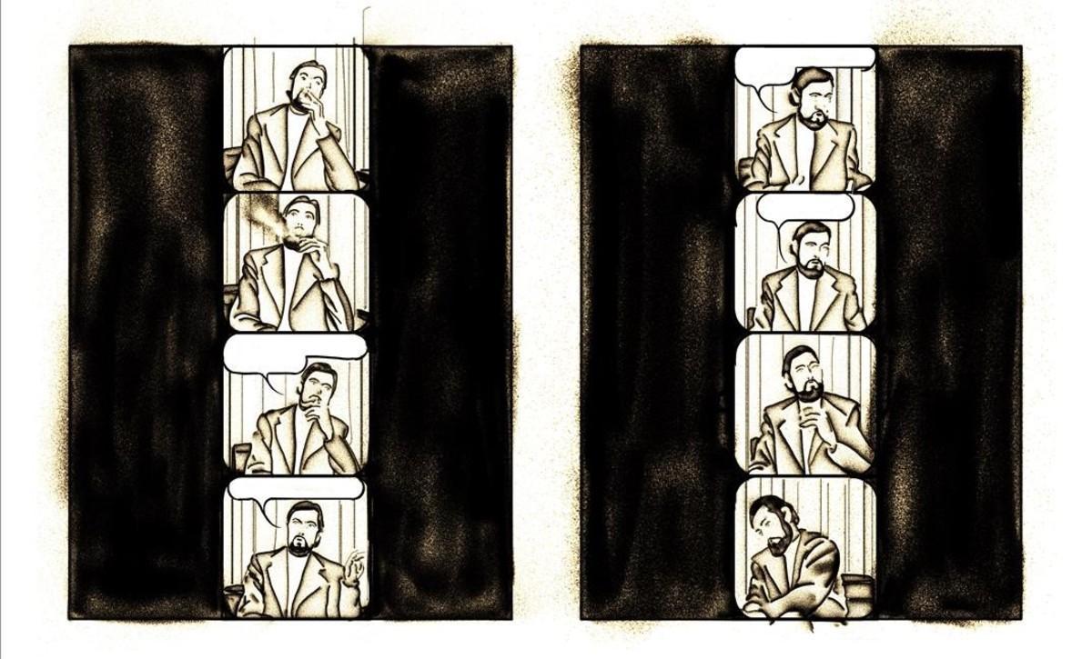 Página del cómic 'Cortázar', de Jesús Marchamalo y Marc Torices.