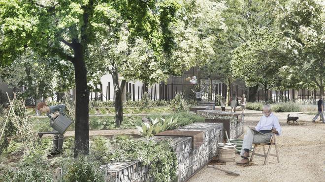 Arrancan las obras para convertir el recinto industrial de Can Batlló en un parque