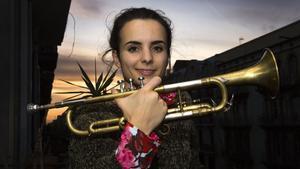 Andrea Motis presentasus diferentes facetas como artista en el Festical de Jazz de Barcelona.