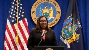 La fiscal general Letitia James.