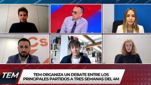 'Todo es mentira' apuesta por cinco jóvenes políticos para su propio debate del 4-M